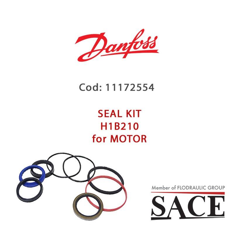 11172554 - OVERHAUL SEAL KIT H1B210 FOR MOTOR