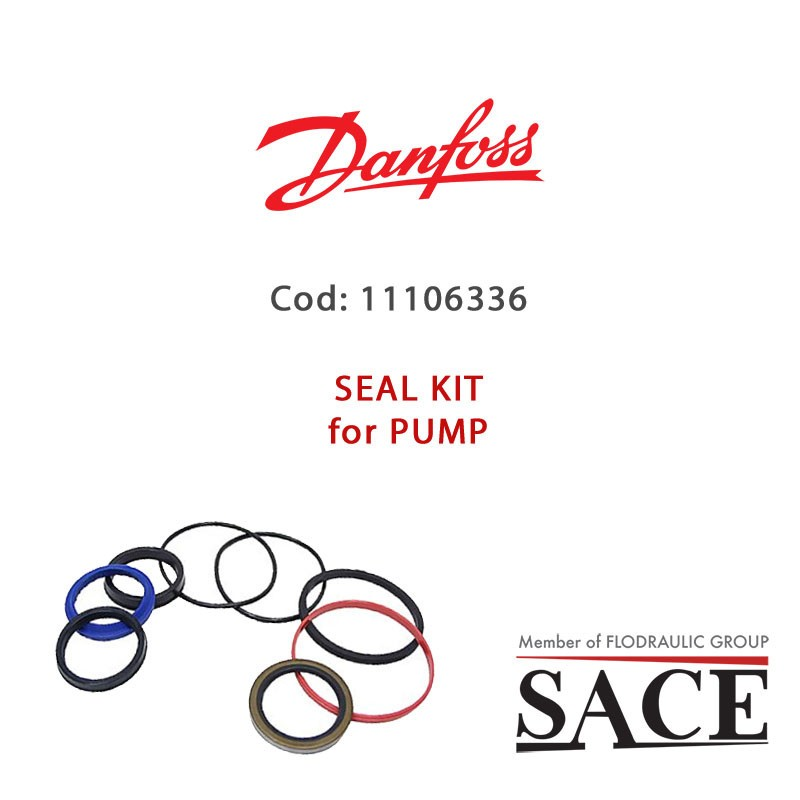 11106336 -OVERHAUL SEAL KIT SERIES 45 FRAME G 74 AND 90cc FOR PUMP