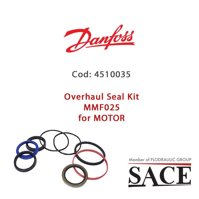 4510035 - OVERHAUL SEAL KIT MMF025 FOR MOTOR