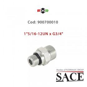 """900700010 - CONNECTOR 1""""5/16-12UN x G3/4"""""""