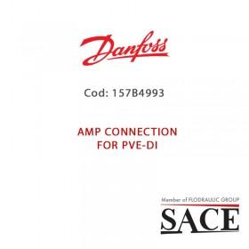 157B4993 - CONNETTORE AMP NERO PER PVE-DI