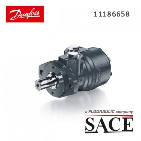 11186658 - ORBITAL MOTOR OMR X 160 CYLINDRICAL SHAFT - Ø25 | DANFOSS