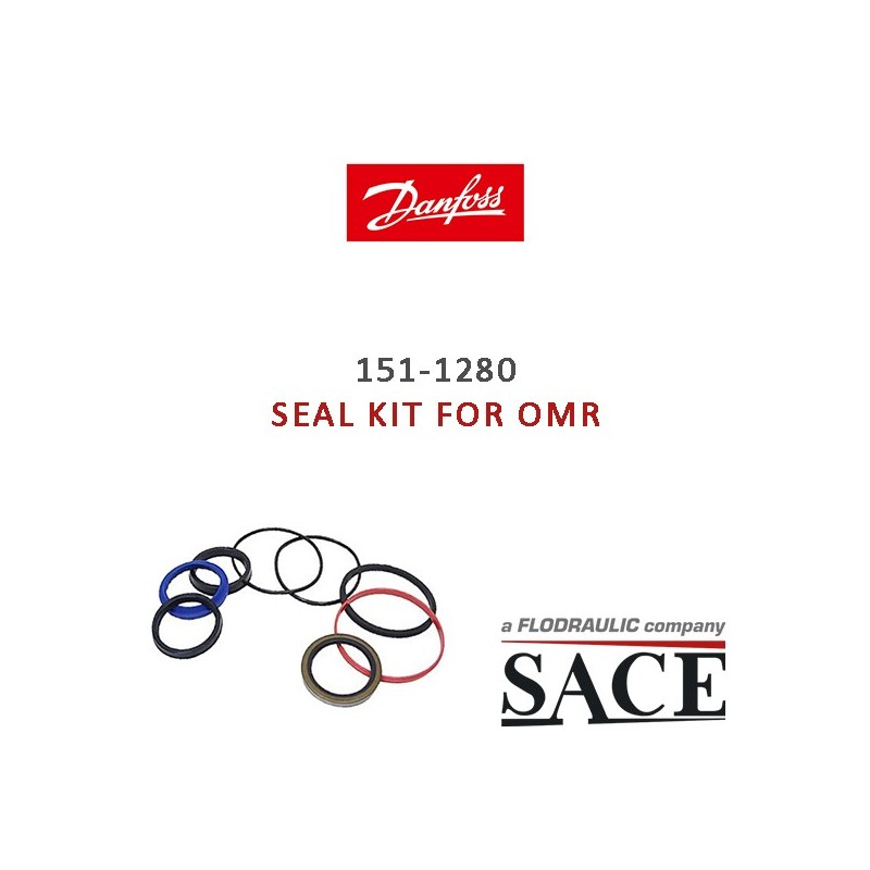 151-1280 - OVERHAUL SEAL KIT FOR OMR | DANFOSS